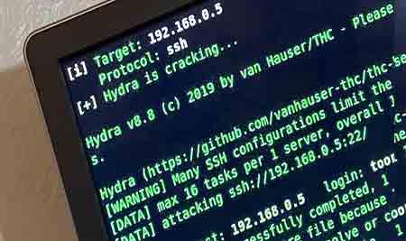 هک  FTP  با Hydra